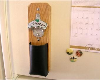 Slainte Wall Hanging Bottle Opener Personalized With Family Name Irish Australians Irish Beer Drinker Gift Beer Mugs Man Cave D\u00e9cor