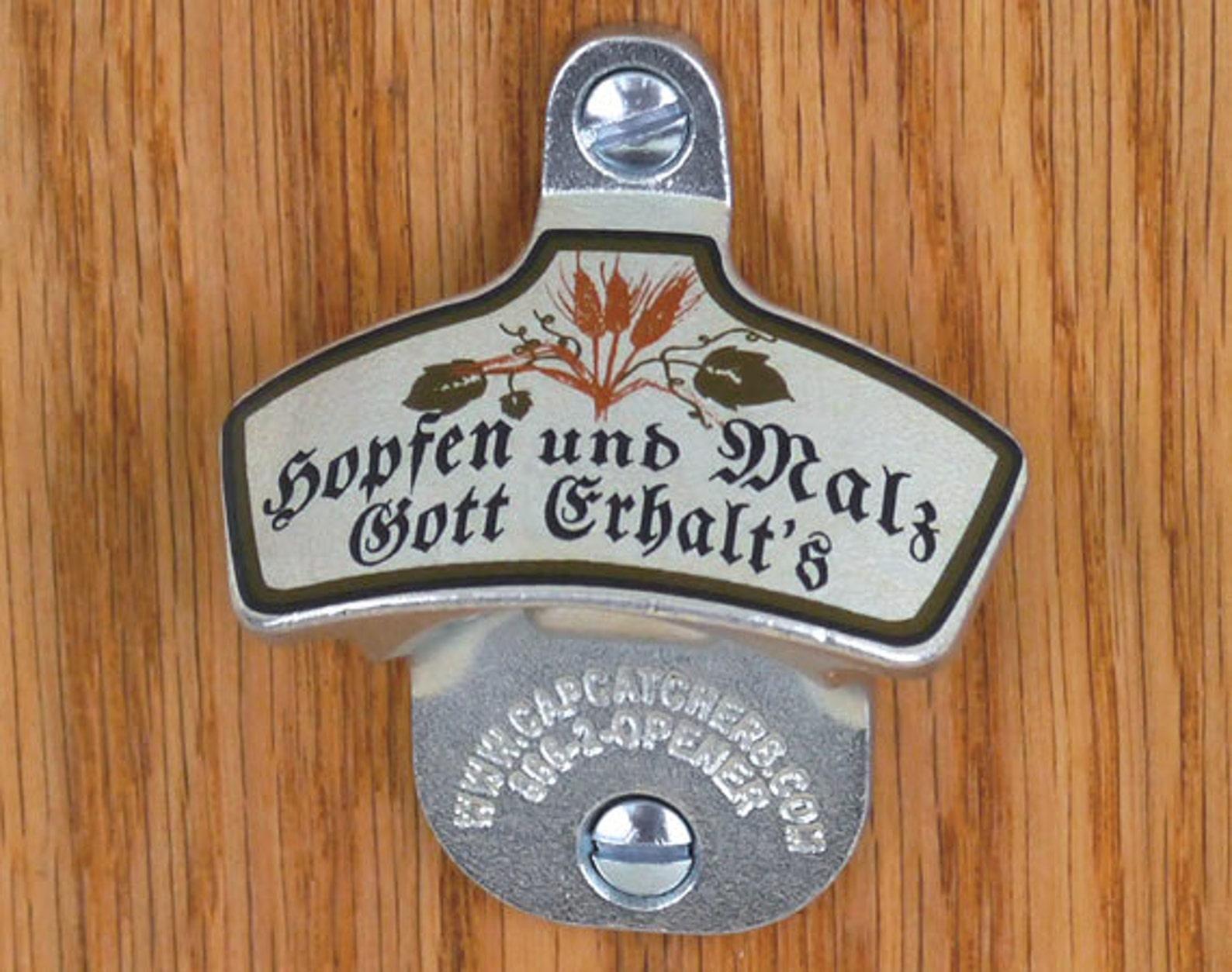 German Wall Mount Bottle Opener