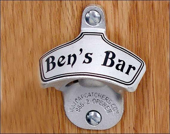 Personalized Groomsmen Gift, Classic Wall-Mounted Bottle Opener, Beer Gifts for Men, Custom Gifts for Groomsmen, Wedding Favor
