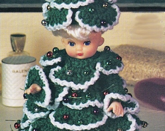 "Air Freshener Doll CROCHET PATTERN Make 10"" Dolls for the Holidays~ PDF Instant Download"