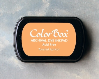 Orange Stamp Pad (Toasted Apricot) // Archival ink // ColorBox