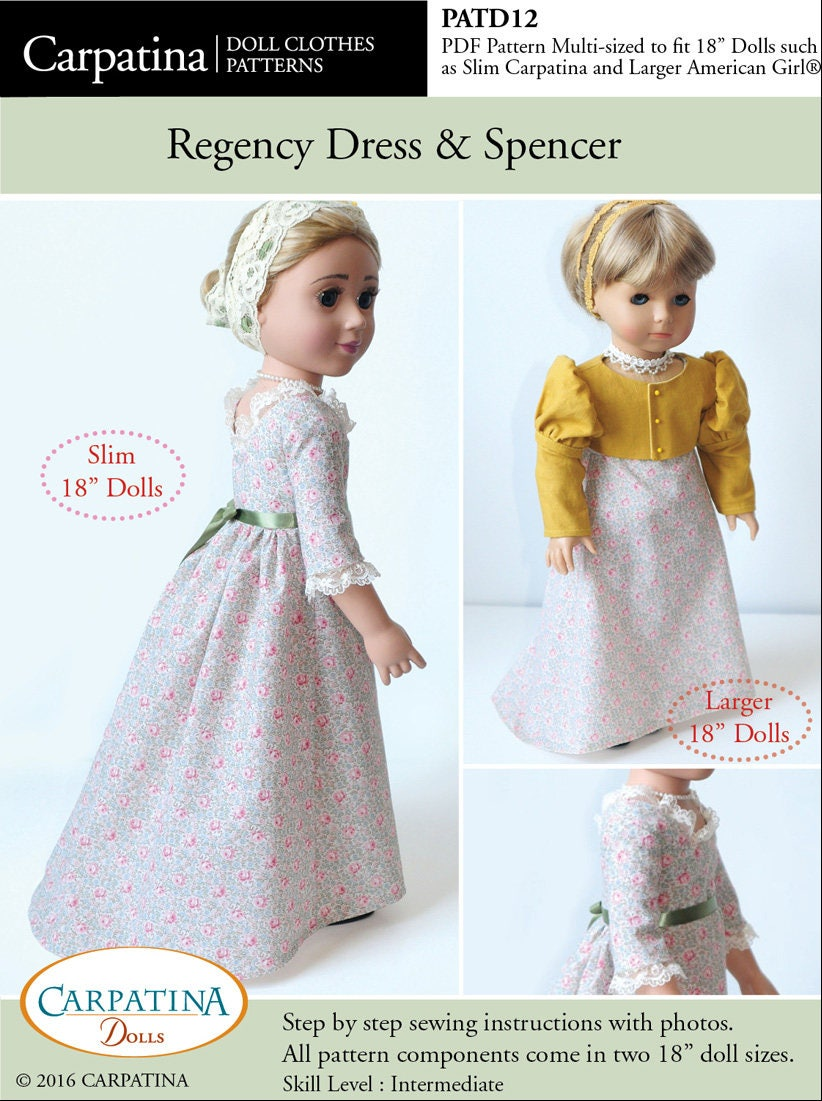 18 Doll Clothes Patterns Magnificent Decoration