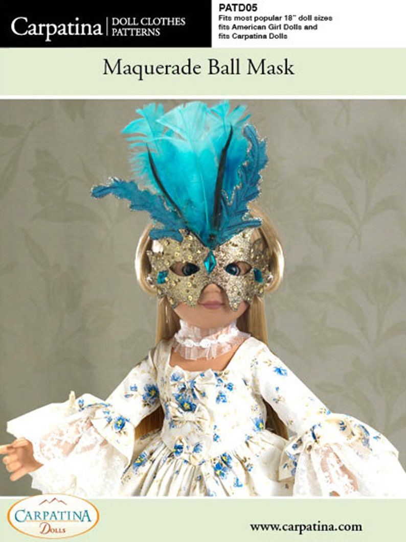 "Doll Clothes 18/"" Carpatina/'s® Regency Doll Redingote Fits American Girl Dolls"