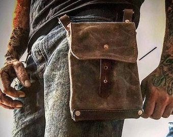 Breclaimed Side Pouch