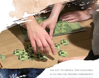 Maze Challenge Escape Room Game Kit