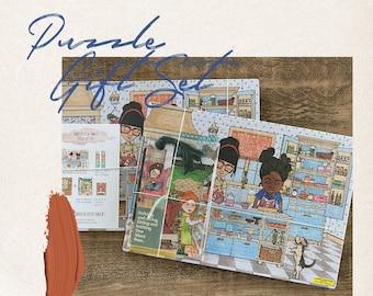Puzzle Gift Set | Baking Buddies: Rosemary, Sage & Muffin