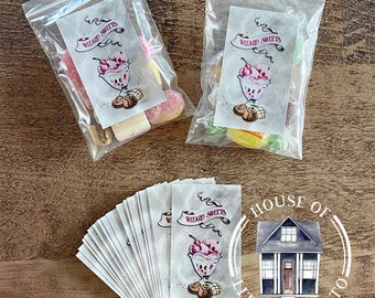 Candy Labels for Gift Bags