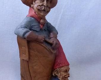 Vintage Cairn Studio Tom Clark Gnome Woodspirit Gabby and Hoppy