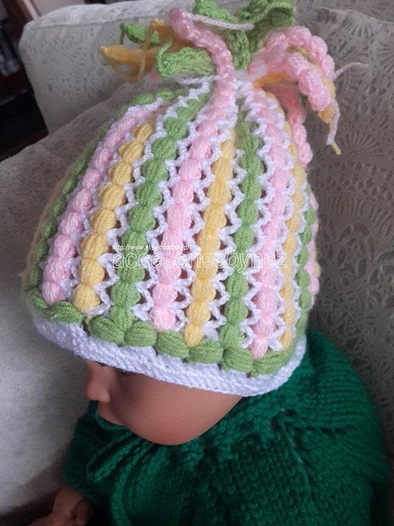 Crochet Baby Hat Pattern Crocheted Hat Crochet Tutorial Etsy