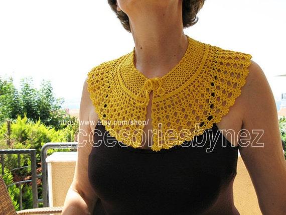 Instant Download Pattern Tutorial Collar Crochet Pattern Peter