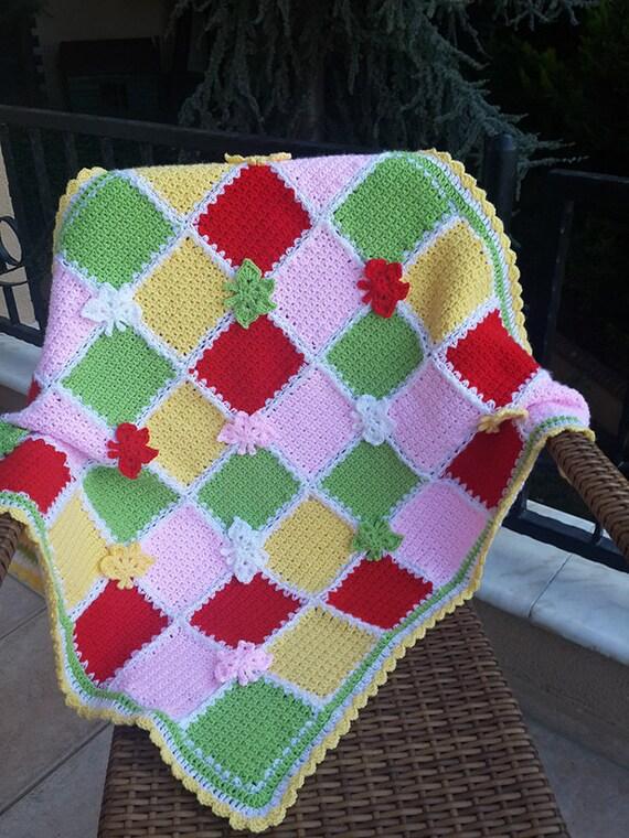 Baby Blanket Pattern Crochet Blanket Butterfly Blanket Etsy