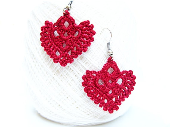 Pdf Patterns Easy Instructions Diy Crochet Earrings Etsy