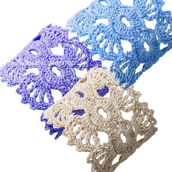 Diy Projects Crochet Pattern Crochet Cuff Pattern Bracelet Etsy