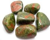 Unakite Large Tumbled Stone One Rock Hound Crystal Healing, Stones, Reiki, Feng Shui, Pocket Stones