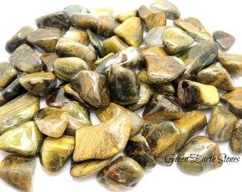 1 Lovely! Lionskin Tumbled Stone, Metaphysical crystals, pocket stones, Rock Hound, Quartz, Tigers Eye, Metaphysical Crystals,