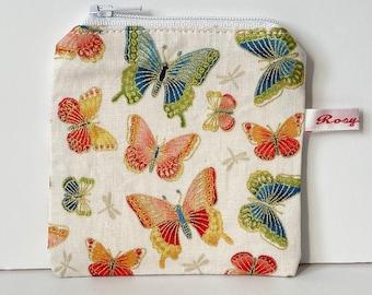 Mini Knitting case  - FALL BUTTERFLY