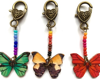 Progress keeper stitch marker pattern marker knitting crochet BUTTERFLY PARLOUR