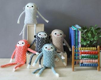 Baby Monkeys in Knitted Lambswool
