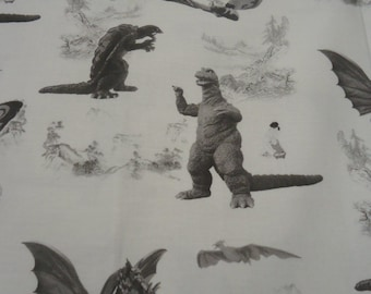 Godzilla Shirt, Gamera, King Ghidorah, Mothra, Rodan, Kaiju Mens Shirt Size Small to 6XL, 100% Cotton, Custom Made to Order, Big and Tall