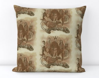 Firefly Serenity Throw Pillow Cover and insert, 100% Linen Cotton, Firefly TV show, Mal Zoe Jayne Wash