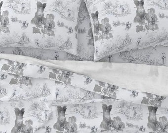 Big Trouble in Little China Bed Sheets, Sizes Twin, Queen and King, 100% Cotton Sateen 300 Thread Count, Custom Printed, Jack Burton