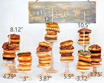 1- Donut Stand, Wedding Doughnut Stands, Doughnut holder, Donut Stand, Doughnut Party, Doughnut Wall, Breakfast Bar, Bagel Stand