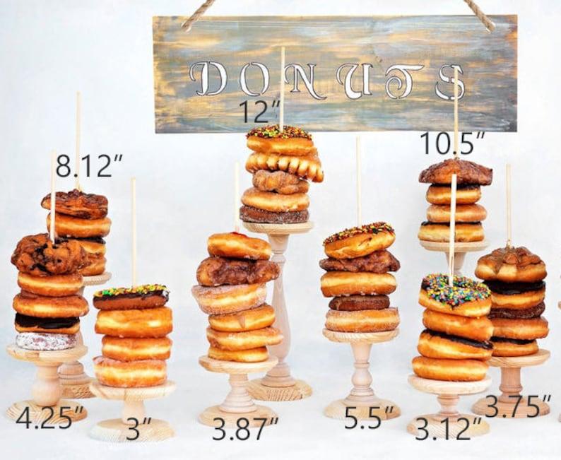 1 Donut Stand Wedding Doughnut Stands Doughnut holder image 0