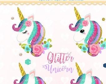 Fairy Unicorn Clipart Rainbow Unicorns clip art Little Pony