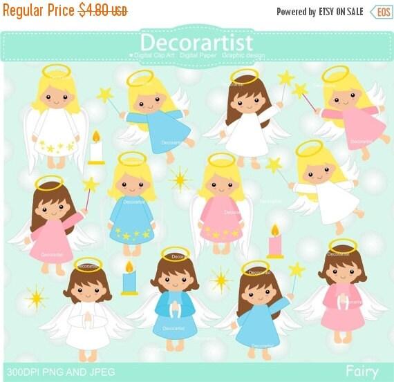 Auf Verkauf Fee Clipart Christmas Fairy Clipart Baby Engel Etsy