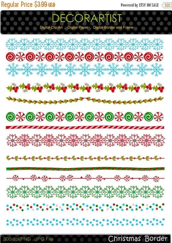 Christmas Border Clipart Png.Christmas Border Clipart Border Clip Art Christmas Banner Clip Art Border Clip Art Line Digital Clipart Instant Download