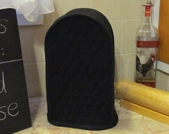 Black Can Opener Covers Kitchen Small Appliance Covers Quilted Fabric Made To Order