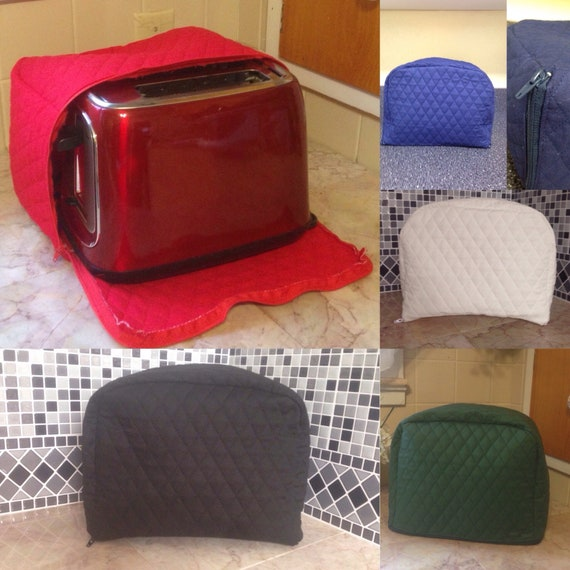 Zippered 2 Slice Toaster Covers In Multiple Colors New