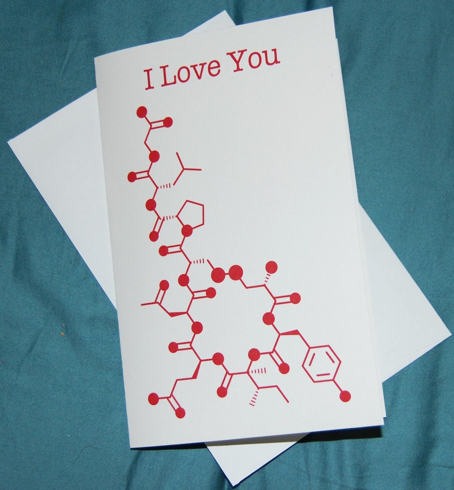 Между нами химия открытка