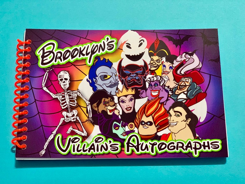Oogie Boogie Halloween Party.Disney Autograph Book Villains After Hours Great For Oogie Boogie Bash Or Mickeys Not So Scary Halloween Party Mnsshp Villain Book 4x6