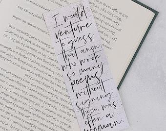 Virginia Woolf Bookmark