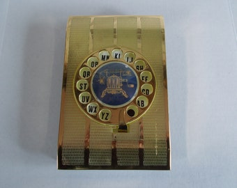 Vintage Telephone Directory Index Cards