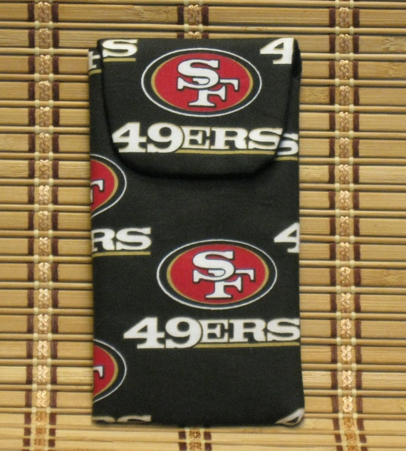 49er Eyeglass Case / Cell Phone Case with Magnetic Closure