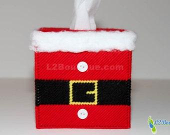 Christmas Decoration Santa Suit Tissue Box Cover