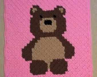 Teddy Bear Childs/Baby/Lap Blanket