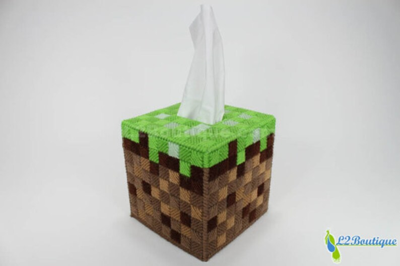 Grass Block Tissue Box Cover image 0