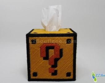 Question Mark/Nintendo Mario Tissue Box Cover