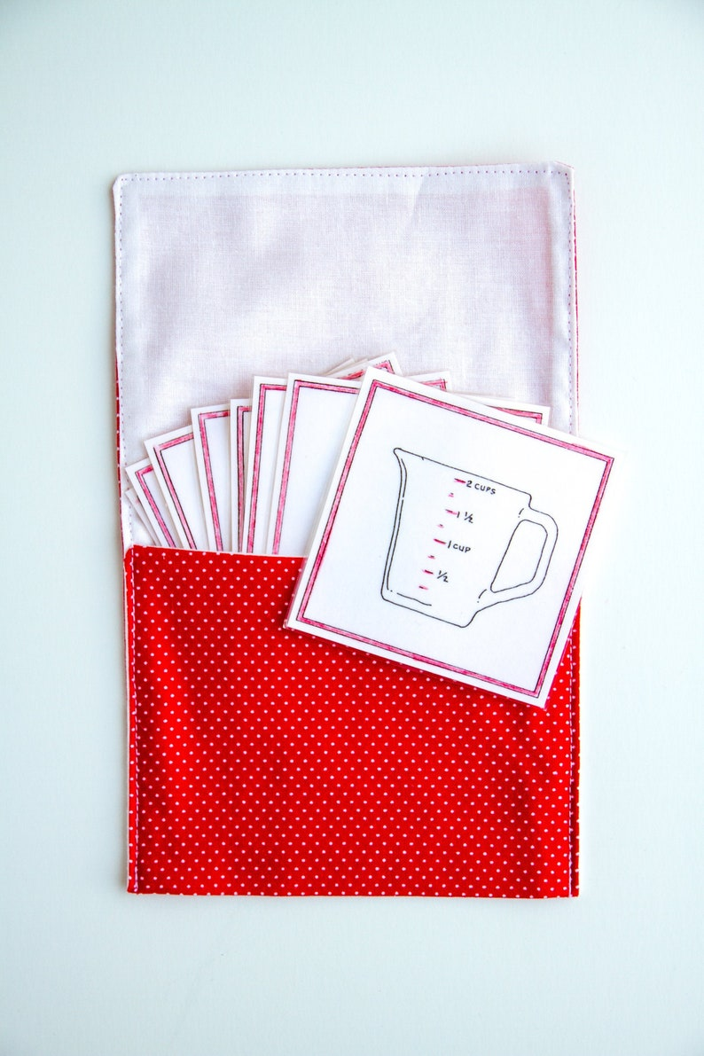 Medium Pouches for Language/Vocabulary Cards  holds up to Tools