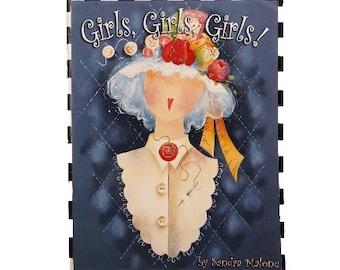 Girls, Girls, Girls (Painting) Book