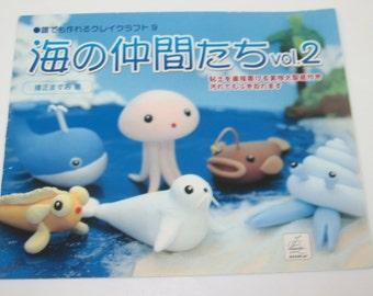 Sea Animals Clay Book Vol. 2