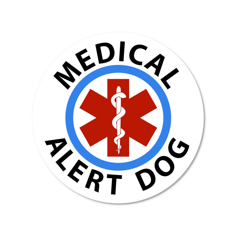 Medical alert cane blu finestra rotonda o bumper sticker etsy - Finestra rotonda e ovale ...
