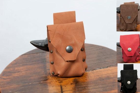 Small leather dice bag larp pouch drawstring game of thrones medieval reenactment ren faire pirate viking costume coin purse warcraft gift