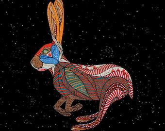 ZODIAC RABBIT ART - Chinese Zodiac Animals by Thailan When