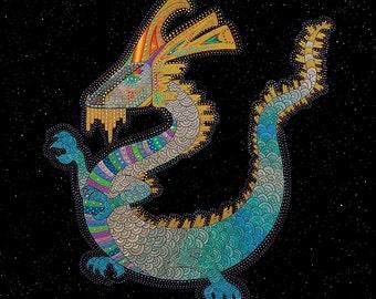 ZODIAC DRAGON ART - Chinese Zodiac Animals by Thailan When