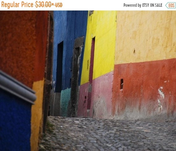 mexiko fotografie san miguel de allende foto mexican farbe etsy. Black Bedroom Furniture Sets. Home Design Ideas
