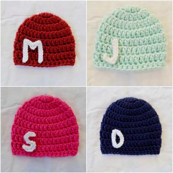 Micro preemie baby ribbed hat beanie twins set boys mint blueberry crochet new